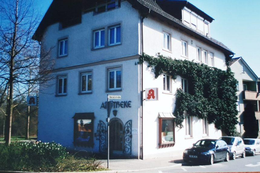 Praxis von außen - Dr Ebert - Heilbronn