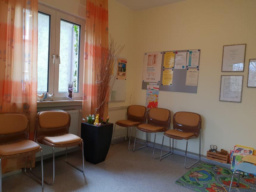 Wartezimmer - Dr Ebert - Heilbronn