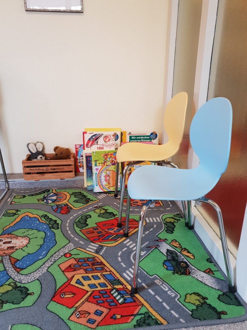 Wartezimmer Kinderecke - Dr Ebert - Heilbronn