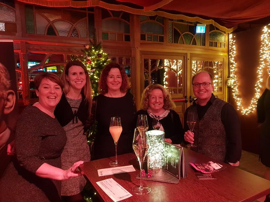 Weihnachtsfeier Heilbronn.Weihnachtsfeier 2018 Im Gourmet Palast Praxis Dr Martin Ebert